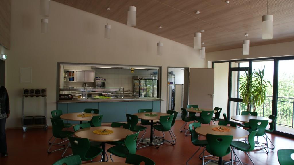 Cafeteria Innenansicht