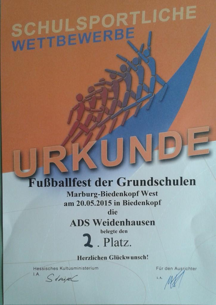 Fußballfest Biedenkopf