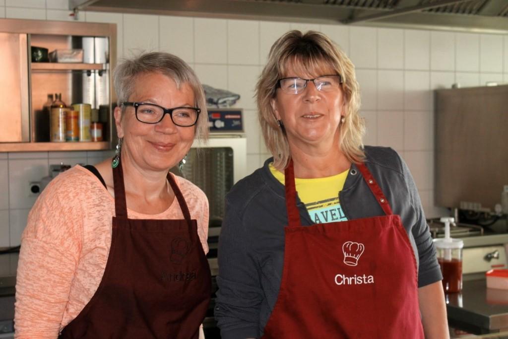 Andrea Immel und Christa Wirth (Foto: Bohn)